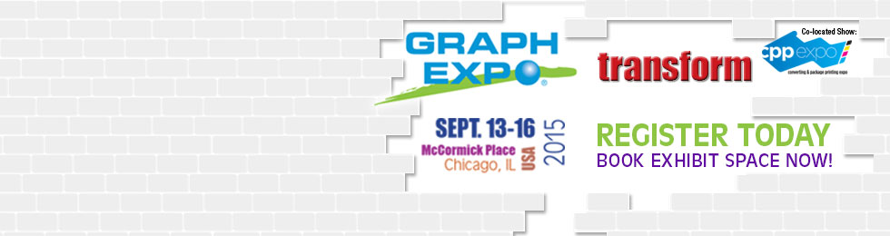Reserve Booth Space at GRAPH EXPO