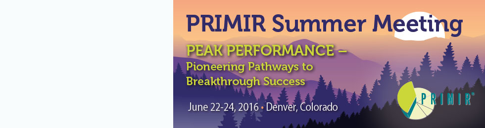 PRIMIR 2015 Summer Meeting